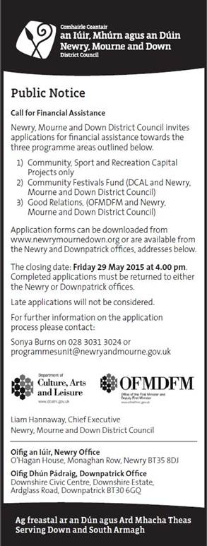 Newry and Mourne Funding